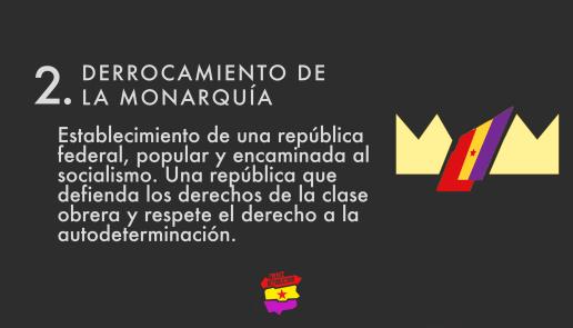Derrocamiento de la monarquía